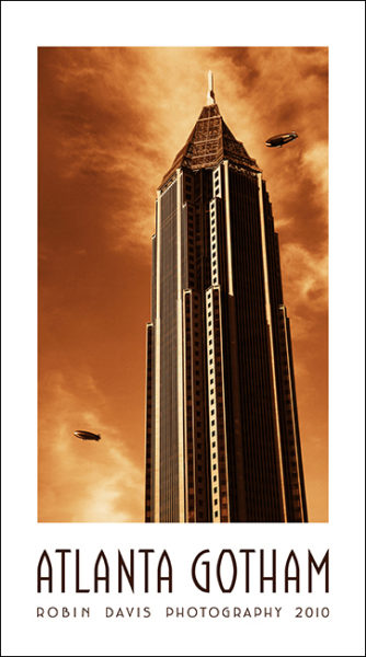 Bank of America Plaza - at 55 stories is Atlanta's tallest building