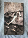 actual mermaid print on tile